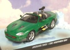 JAMES BOND CARS COLLECTION 006 JAGUAR XKR DIE ANOTHER DAY Slightly Cracked case