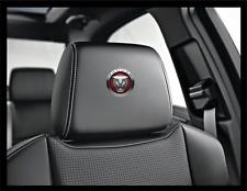 5x JAGUAR Jag Logo Headrest Car Seat Decals Badge XE XF XJ F-Type R SE E F Pace
