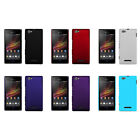 Hard Rubberized Matte Snap-On Slim Cover Case for Sony Xperia M C1904 C1905