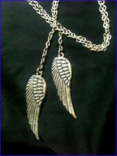 Beautiful  Angel Wings  Pendants  with Long Lovely Chain