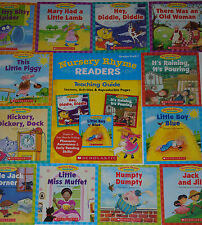 Lot 12 Learn to Read Phonics Nursery Rhyme Books Kindergarten PreK Grade 1 First