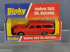 DINKY TOYS  MODEL No.122 VOLVO 265 DL ESTATE CAR   ( ORANGE  VERSION )   VN  MIB