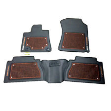 2014 2015 TOYOTA TUNDRA 1794 EDITION FLOOR MATS 3PC SET