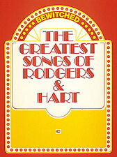 Bewitched The Greatest Songs Of Rodgers And Hart Learn PIANO PVG Music Book