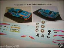 PORSCHE 935 3° LE MANS 1979 VAILLANT/BP DECAL 1/43