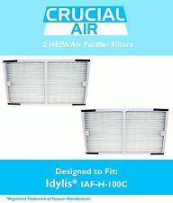 2 Idylis C HEPA Air Purifier Filter Fit IAP-10-200 IAP-10-280 Model # IAF-H-100C