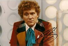COLIN BAKER 6th SIXTH DOCTOR WHO SIGNED AUTOGRAPH 6 x 4 inches PRE PRINTED PHOTO
