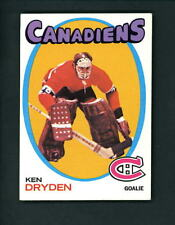 1971 1972 Topps # 45 ROOKIE Ken Dryden Canadiens EX/MT