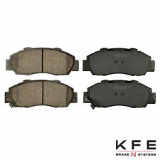 Premium Ceramic Disc Brake Pad FRONT NEW Set With Shims Fits Honda Acura KFE503