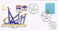Nederlandse Antillen FDC NVPH E033 / E33 onbeschreven (5) open klep