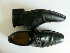 Cole Haan Oxford Shoes Black Cut Out Toes Leather  12 M