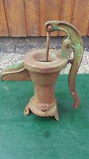 Vintage Cast Iron Pitcher Hand WATER PUMP