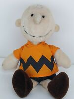 Vintage Charlie Brown Plush Doll No Hat 1966 United Feature Syndicate  (L)