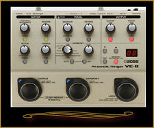 Boss VE-8 Acoustic Singer Preamp, Vocal Effects, and Looper Pedal