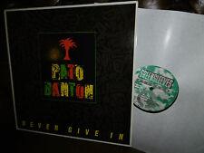 Pato Banton, Never Give In, REGGAE, UK England Greensleeve GRERL 108 LP, 1987