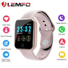 Lemfo I5 Hombre Mujer Monitor de sueño Reloj inteligente Bluetooth Android IOS