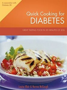 Quick Cooking for Diabetes by McGough, Norma Book The Cheap Fast Free Post