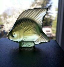 Lalique Fish, Rare/Unusual Colour, Anise Special, Angel Fish . BNIB , Gift Idea