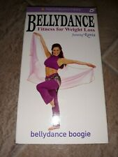 NATURAL JOURNEYS : Bellydance Fitness for Weight Loss (VHS 2004) FITNESS FUSION.
