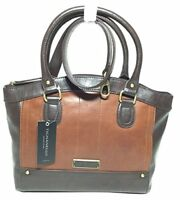 NWT Tignanello Hide and Seek Satchel, Rust/Brown, T15008A, MSRP: $169.00