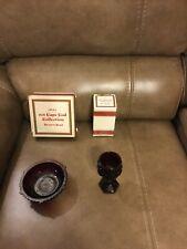 Avon 1876 Ruby Red Cape Cod Collection Dessert Bowl/Wine Goblet