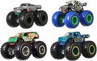 Hot Wheels Monster Trucks 1:64 4-Pack AST Vehicles