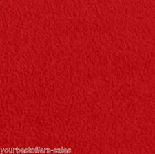 Solid Fleece Fabric Red Fleece Fabric Anti Pill Fleece Fabric By The Yard New