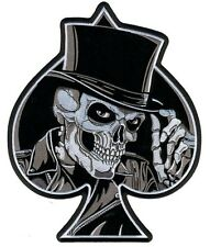 Top Hat Biker Skull back Patch Patch aufbügler respect Brother Harley club 1%