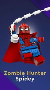 LEGO 71031 Marvel Studios Minifigure No. 8 - Zombie Hunter Spiderman New Sealed
