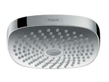 Hansgrohe CROMA SELECT E OVERHEAD SHOWER 180mm WELS 3 Star 9L/Min WHITE/CHROME