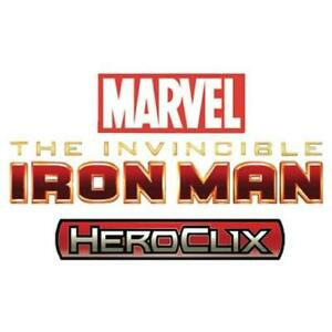 WizKids Marvel HeroC  Invincible Iron Man - Gravity Feed Booster Pack (Cas New