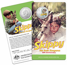 2020 SKIPPY THE BUSH KANGAROO 50TH ANNIVERSARY RAM CARDED 50c COIN - FREE POST!