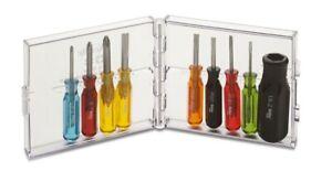 Xcelite PS88N Screwdriver Set, Midget 9pc Color Coded w/ Torque Amplifier & Case