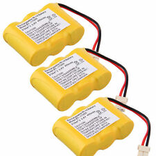 3x Replacement 3.6V Battery Pack For At&T El41108 El41208 El42108 Cordless Phone
