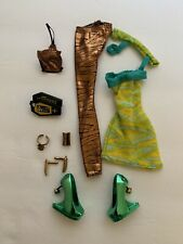 Monster High Cleo de Nile Dawn of the Dance Outfit Complete