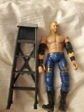 TNA Lockdown Six-Sides Of Steel ring Exclusive Christian figure loose mint