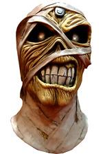 Halloween Iron Maiden Eddie Powerslave Mummy Adult Latex Deluxe Mask Costume NEW