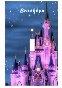 PERSONALIZED Cinderella's Castle Light Switch Covers Disney Home Decor Outlet
