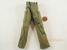 1:6 Action Figure US Military Army Soldier Green Pants Trousers Uniform DA200