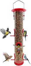 Waterproof Bird Feeders Seeds Holder Wild Birdfeeder Attract Birds Tree Hanging