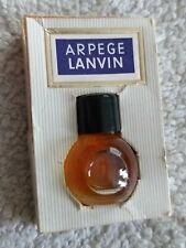 LANVIN Arpège 1939 RARE !!! 1ml boule Full ! Plus écrin publicitaire (p155)