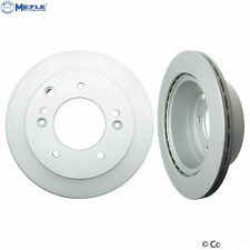 Fits Kia Sorento 03-06 3.5L V6 Set of 2 Rear Disc Brake Rotors Meyle 40428024