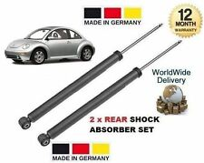 FOR VOLKSWAGEN VW NEW BEETLE 1999--> 2 x REAR SHOCK STRUT SHOCKER ABSORBER SET