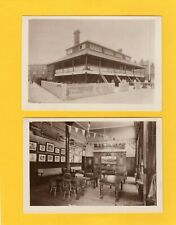 More details for 2 unidentified rowing club house thames ? rp pcs unused  aj809