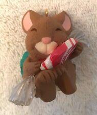 Hallmark Collectible Ornament-Peppermint Surprise-Mouse-1996
