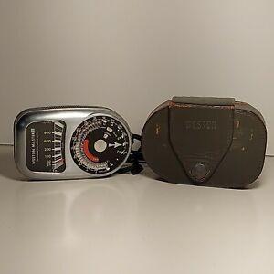 Weston Master III Light Meter Model 737 Vintage Photography Gear & Case