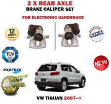 FOR VW TIGUAN 2007-> NEW 2X REAR LEFT + RIGHT ELECTRIC HANDBRAKE  BRAKE CALIPER