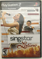 Singstar Latino (very rare)playstation 2 (new-sealed)ps2 (game only-no mics