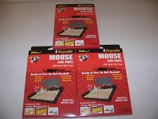 Lot Of 12 Mice Mouse Sticky Glue Traps Trays