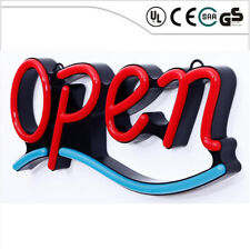 Remote Large Bright Jumbo Size Flash Motion Led Neon Open Business Sign Light